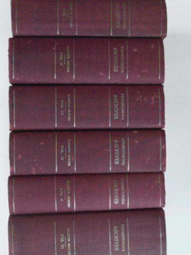 - Pennsylvania archives Volumes 1-6