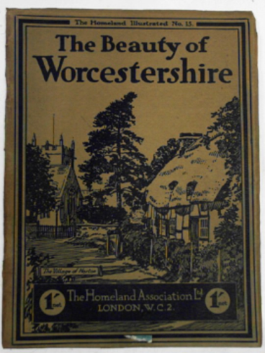 FELTON, HERBERT / HODGSON, BASIL (ED) - The beauty of Worcestershire: camera pictures of the county