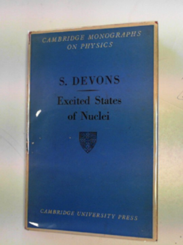 DEVONS, SAMUEL - Excited states of nuclei