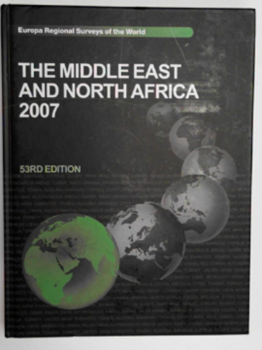 DEAN, LUCY (ED.) - Middle East and North Africa 2007