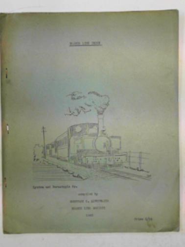 LEWTHWAITE, GEOFFREY C - Branch line index