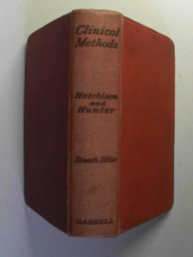 HUTCHISON, ROBERT (SIR) - Clinical methods