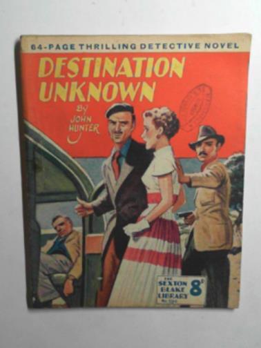 HUNTER, JOHN - Destination unknown