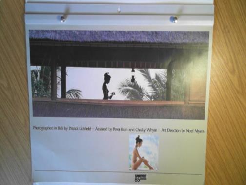 LICHFIELD, PATRICK - Unipart 85 calendar