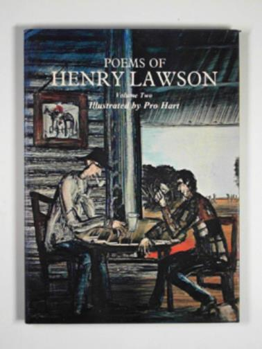 LAWSON, HENRY - Poems of Henry Lawson, volume two
