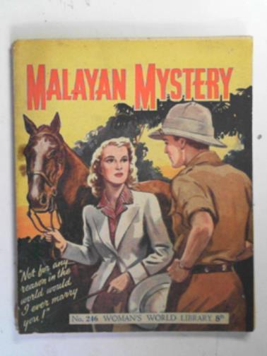 LEE, MARY - Malayan mystery