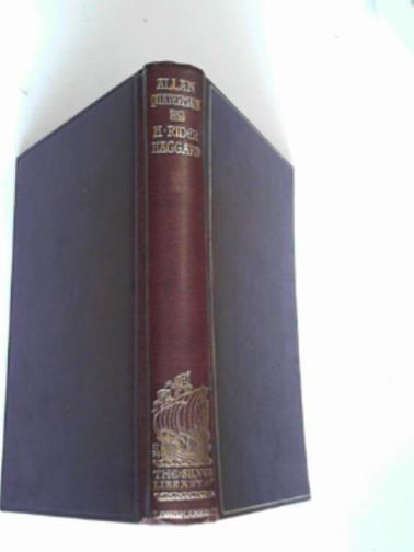 HAGGARD, H.RIDER - Allan Quartermain: being an account of his further adventures and discoveries
