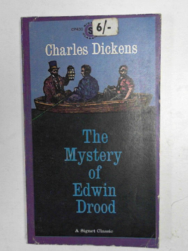 DICKENS, CHARLES - Mystery of Edwin Drood